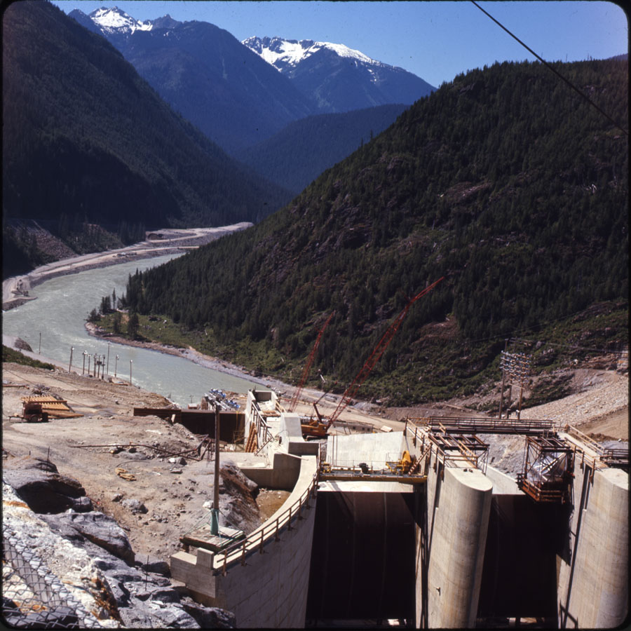 Mica Dam Construction, 1970 [DC2-50]
