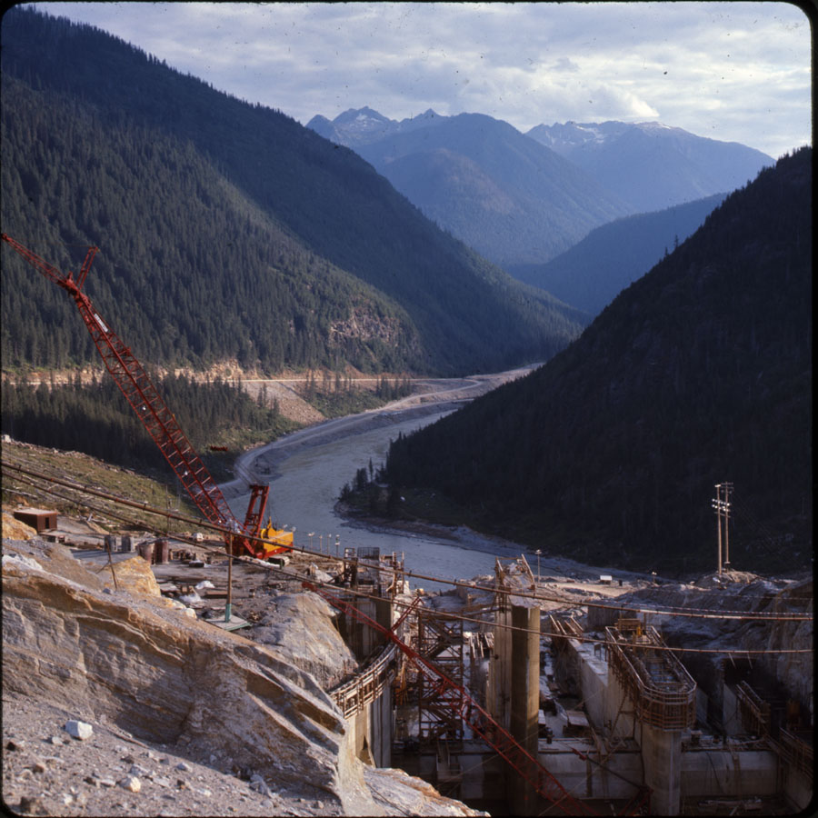 Mica Dam Construction, 1970 [DC2-51]