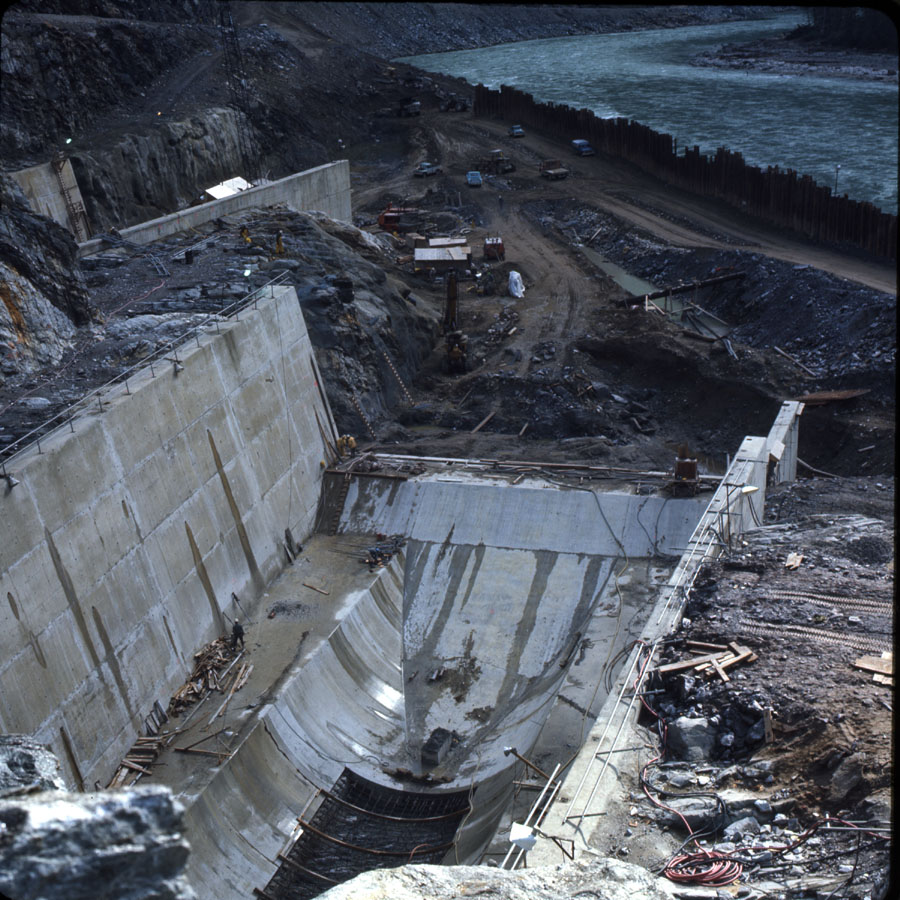 Mica Dam Construction, 1970 [DC2-55]