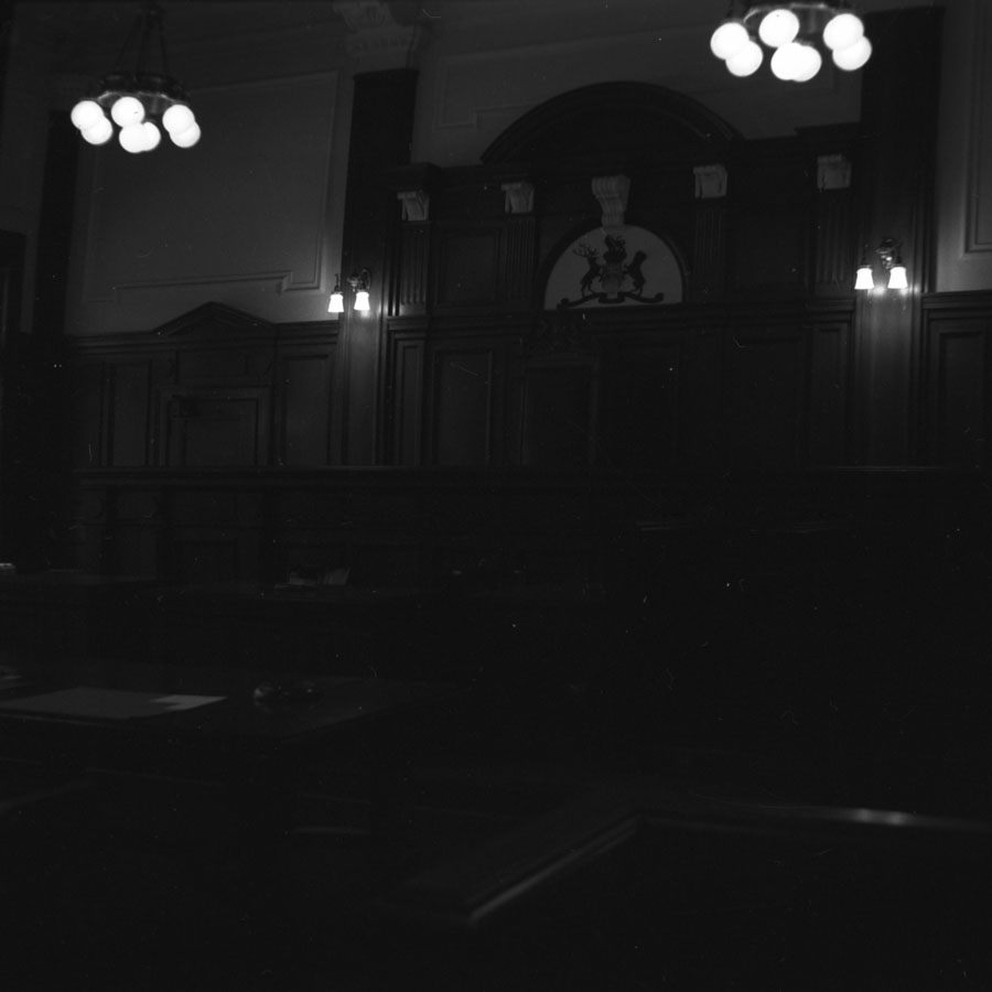 Courthouse Courtroom Interior [DN-602]
