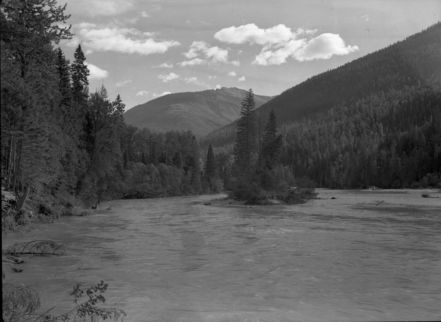 Canoe River above Boulder Creek [DN-321]