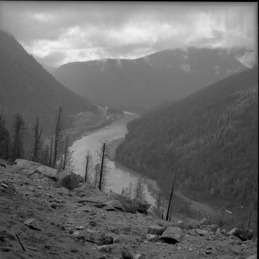 Columbia River abover Mica Dam Construction [DN-492]