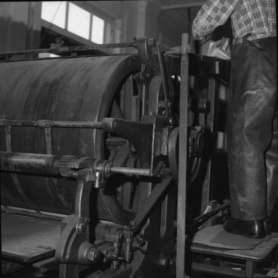 Dismantling Old Printing Press [DN-213]