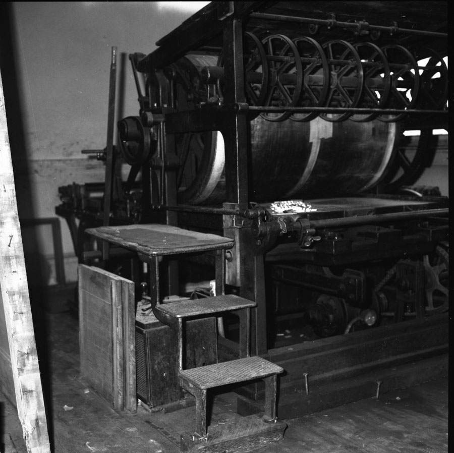 Old Printing Press [DN-214]