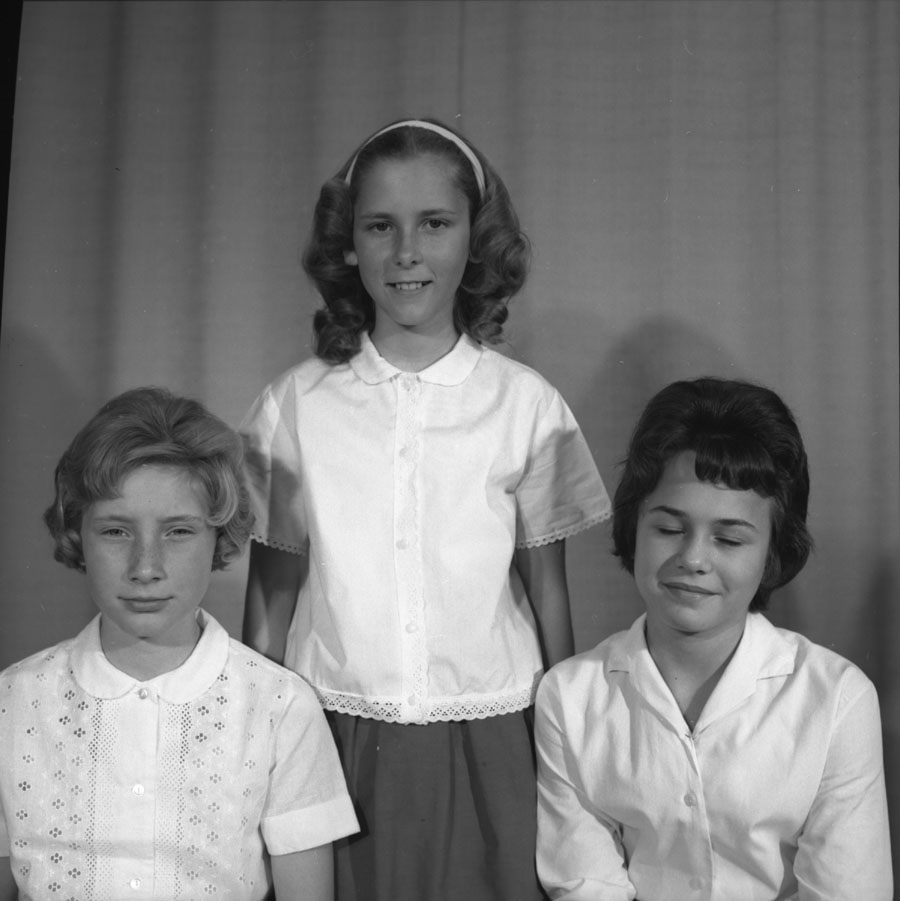 May Queen and Princesses, 1964 [DN-241]
