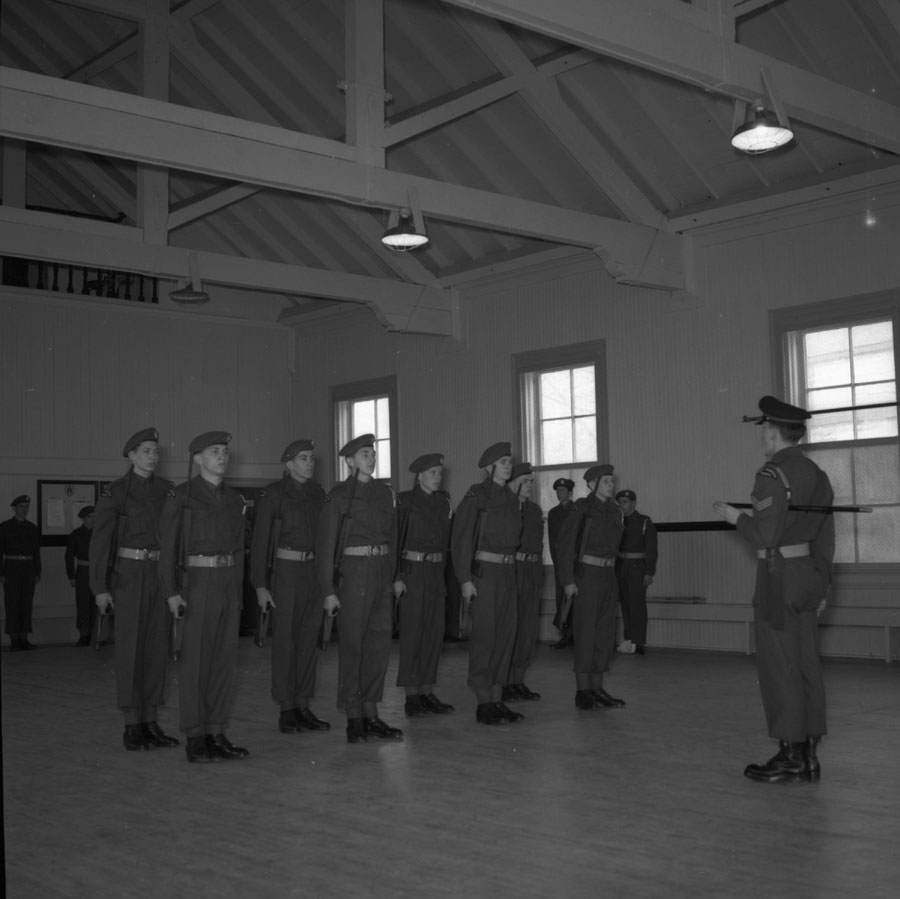 Ceremony at Drill Hall [DN-279]