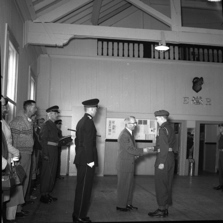 Ceremony at Drill Hall [DN-280]