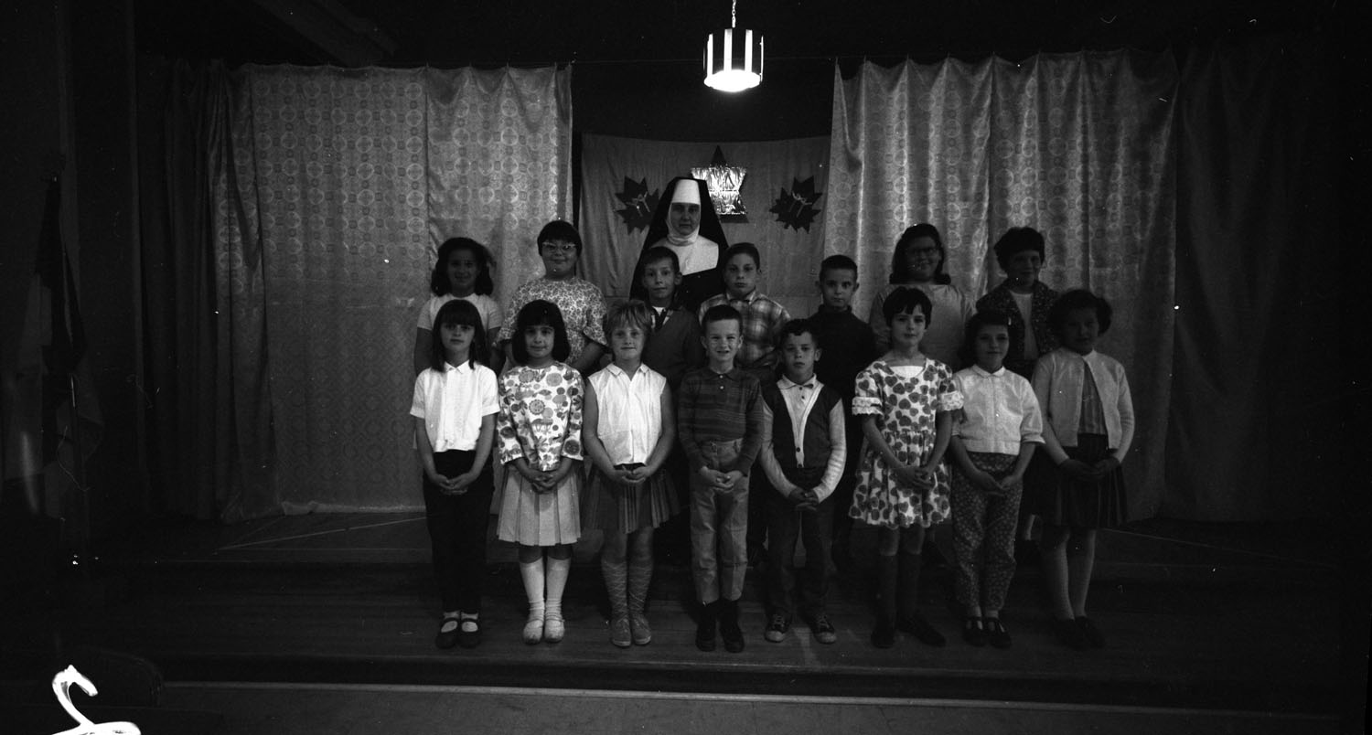 Catechism Class St Francis Church [DN-516]