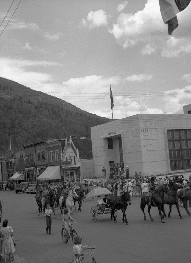 Parade, Golden Spike Days, 1946 [DN-724]
