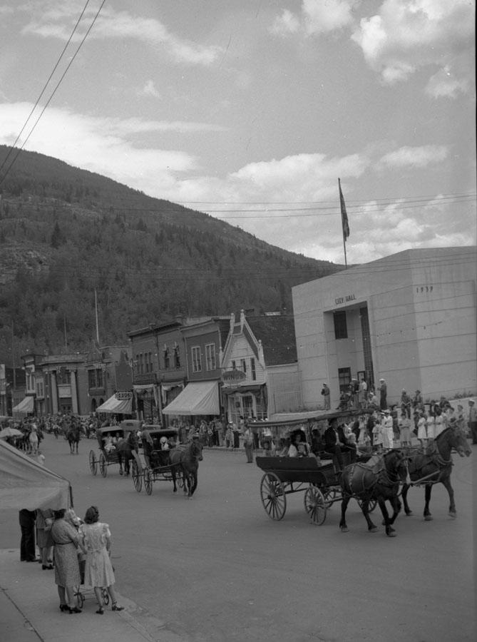 Parade, Golden Spike Days, 1946 [DN-725]