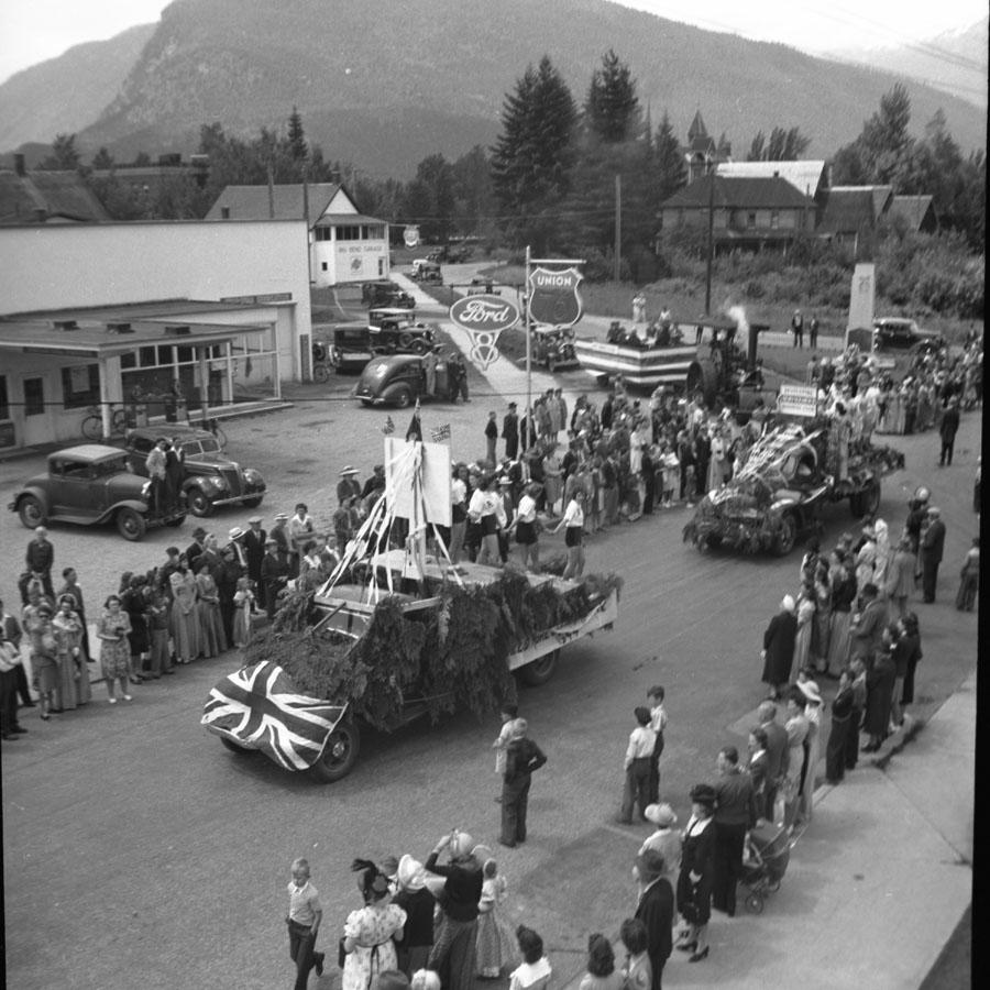 Parade, Golden Spike Days, 1950 [DN-727]