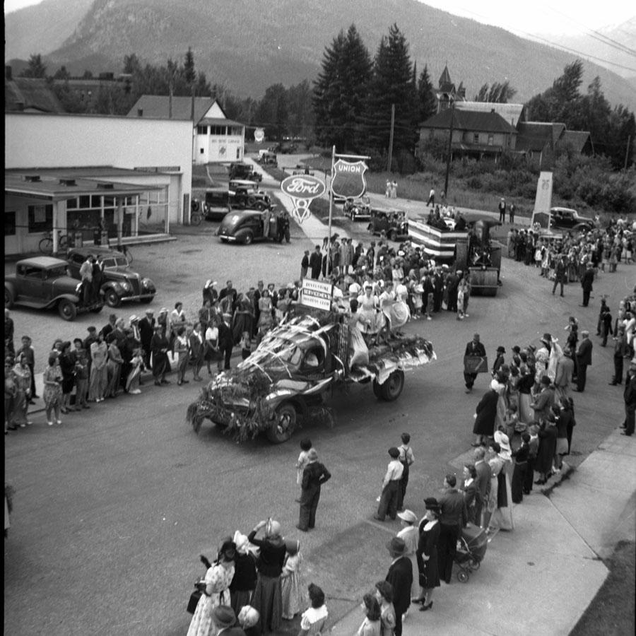 Parade, Golden Spike Days, 1950 [DN-728]
