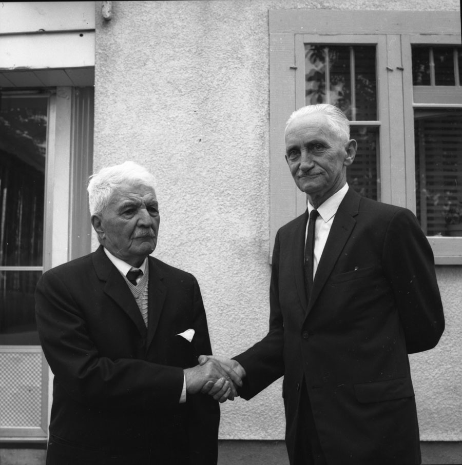 Arvid Lundell and Mr. Sanservino [DN-364]