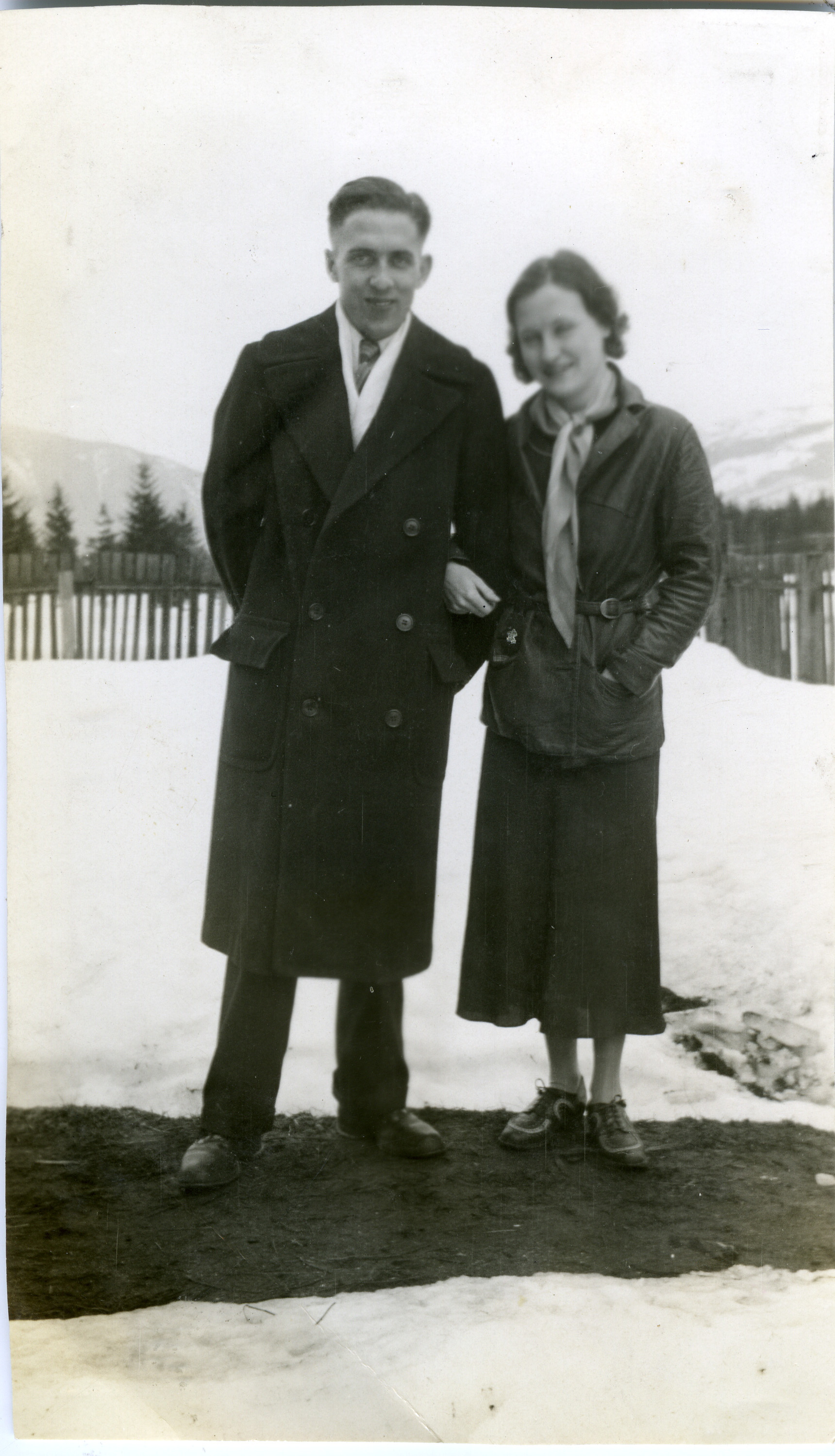 Wilmot and Isabelle Steed, c.1930s