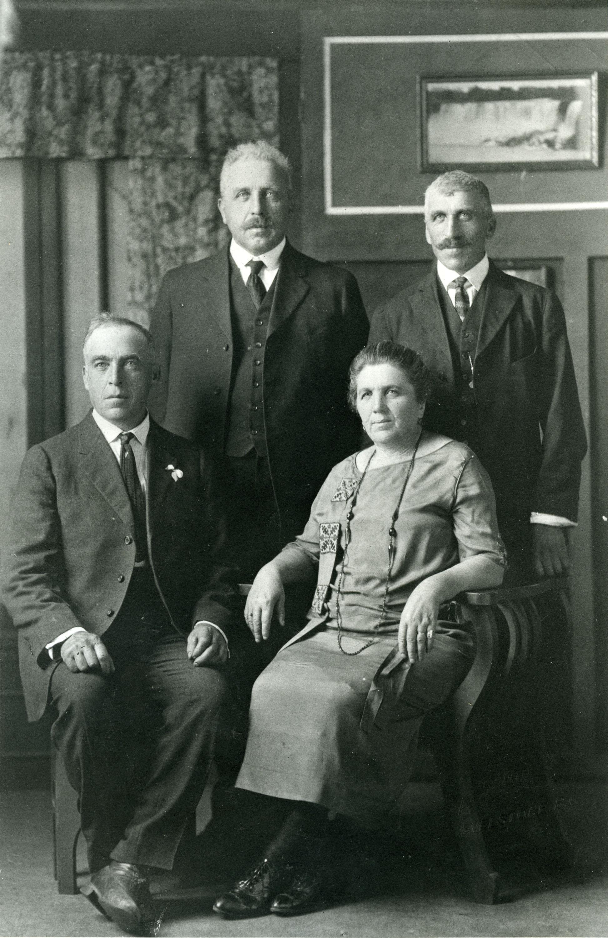 Pradolini family, c.1935