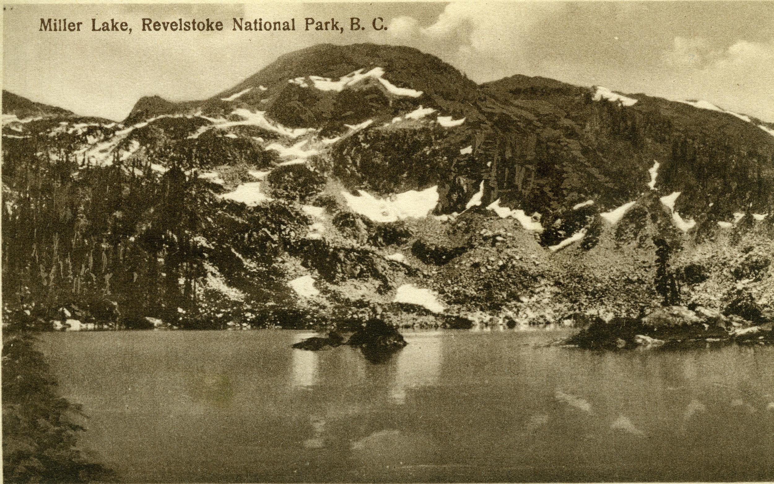 Miller Lake, Revelstoke National Park, c.1915