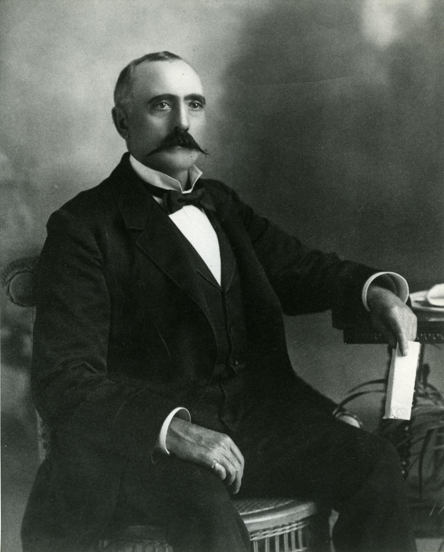 Revelstoke's first mayor, Frank McCarty.