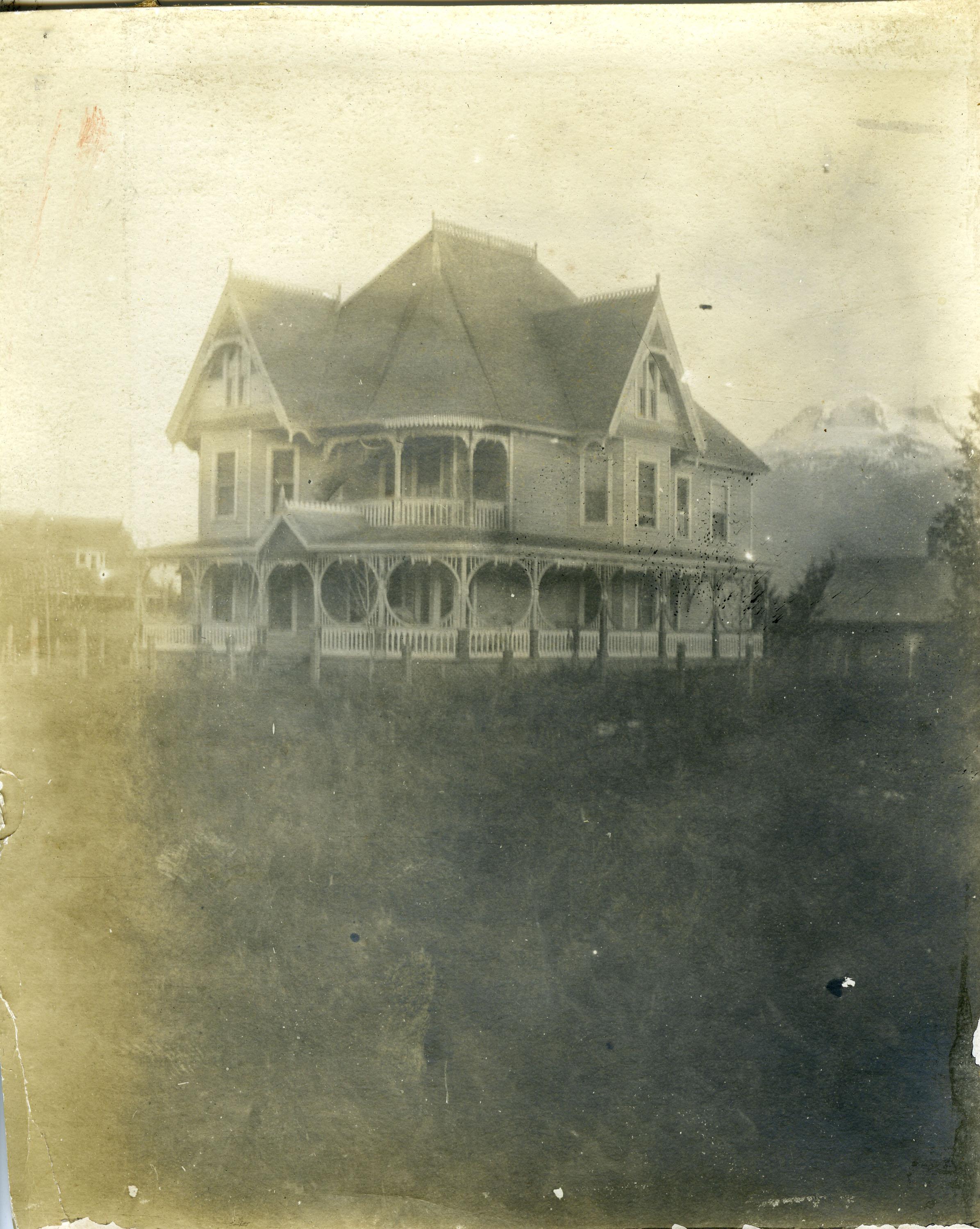 The Holten home, 1221 Front Street, Revelstoke.