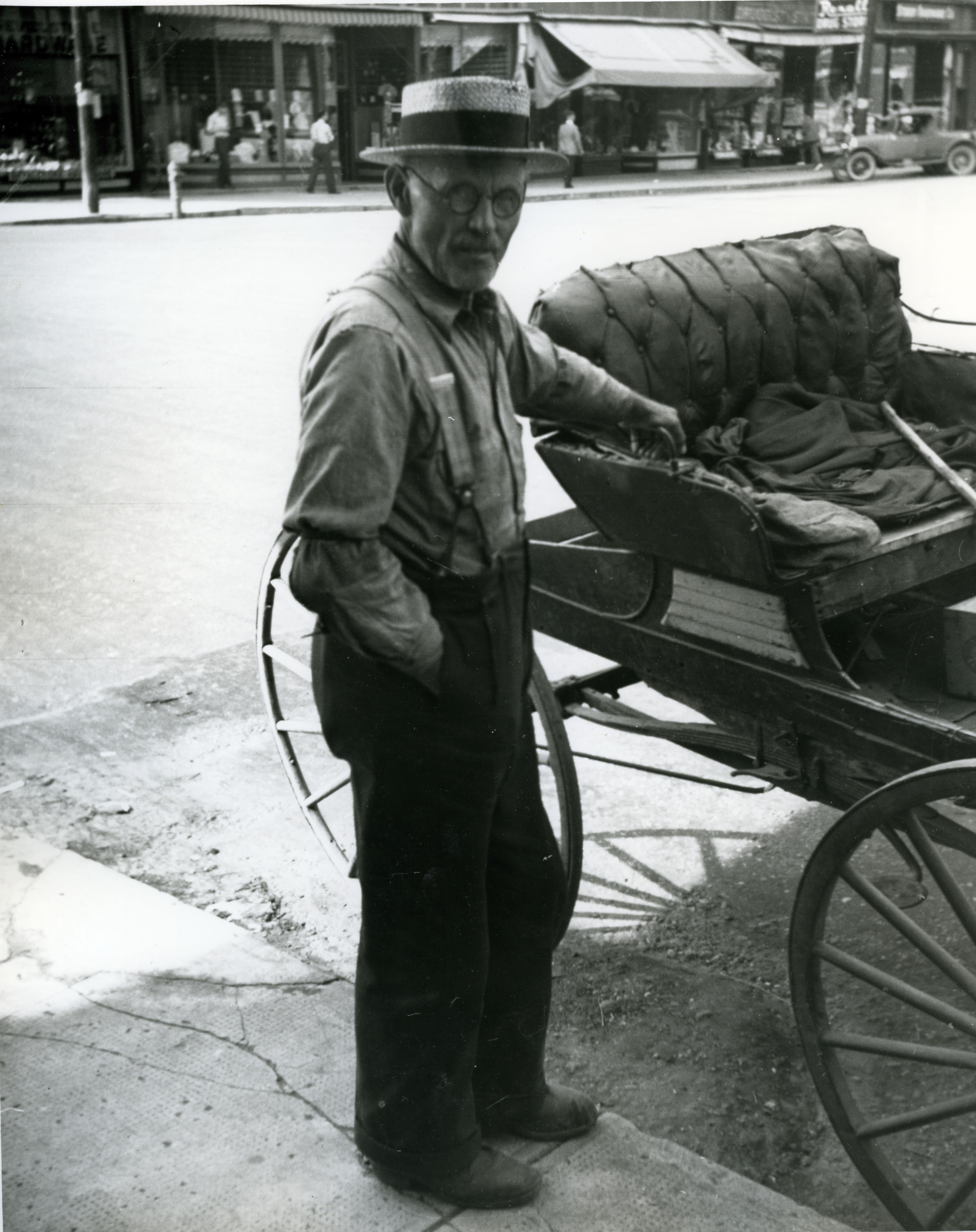 One of Revelstoke's earliest farmers, Sam Crowle, date unknown.