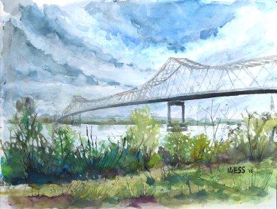 MS River Bridge