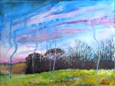 Dripping Landscape