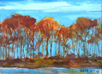 Rust Colored Treeline