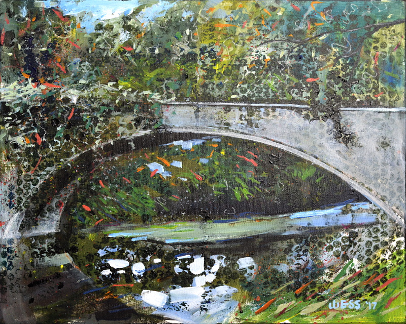 "City Park Bridge #2, 16x20"", $300"