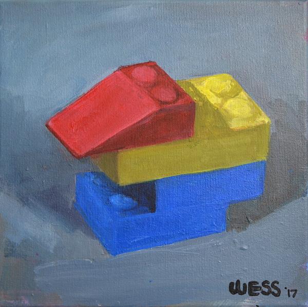 """Lego Duck, 11X11"""", $75"""