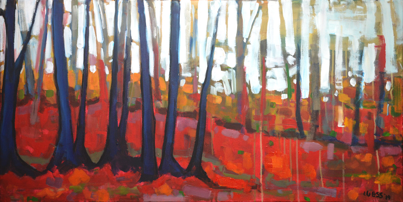 "The Voices of the Trees, 24x48"", $900"