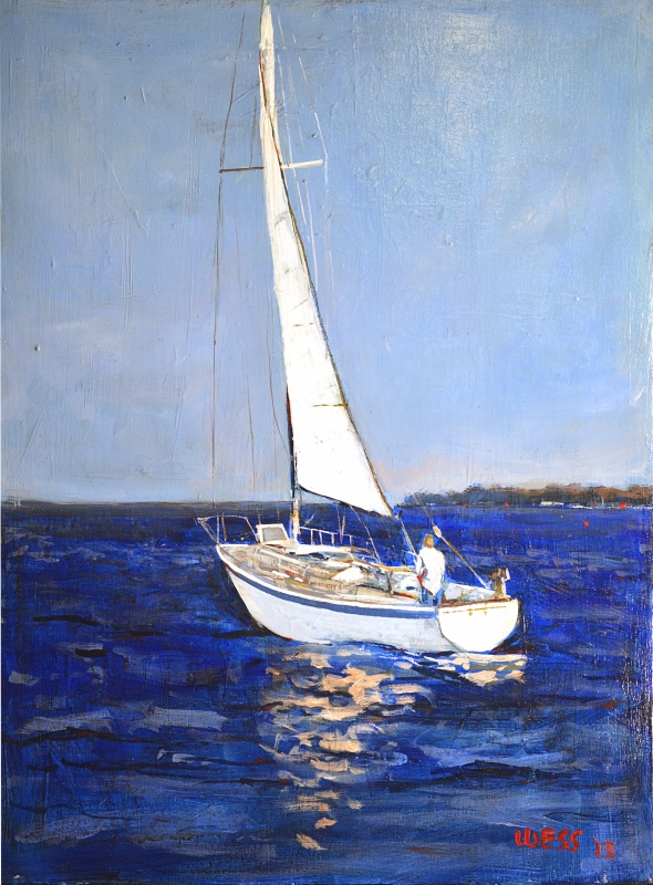 Sailing Away, sale price: $150