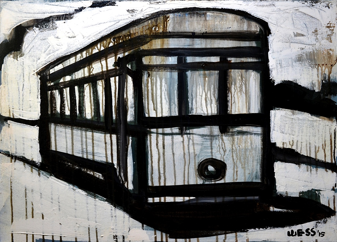Streetcar in Black & White, sale price: $300
