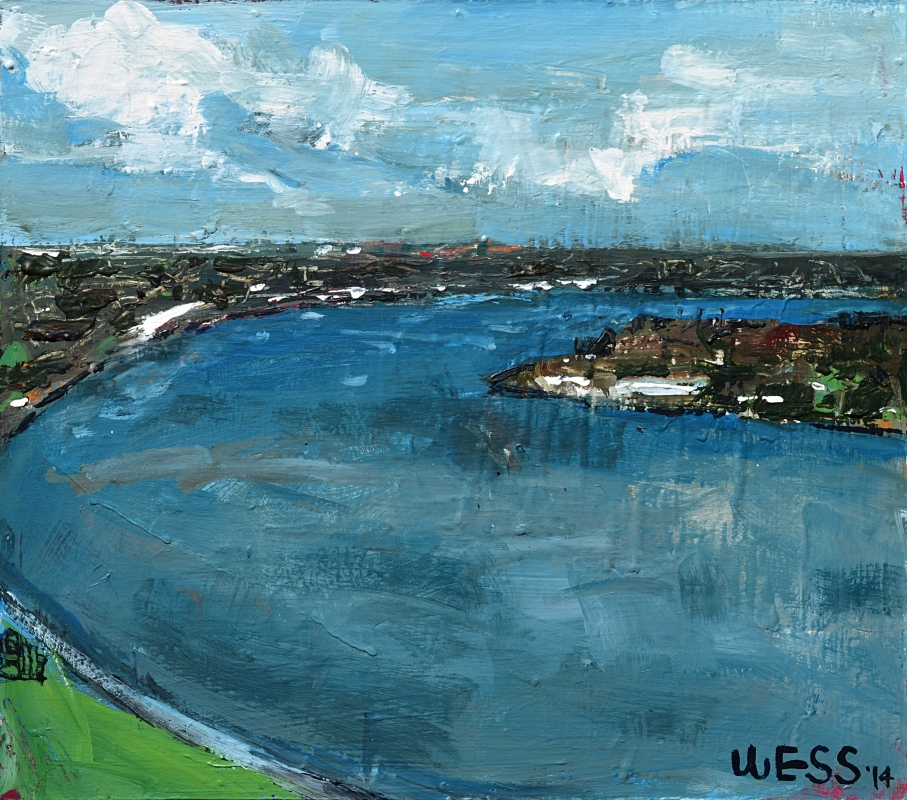 The River on a Cloudy Day, sale price: $75