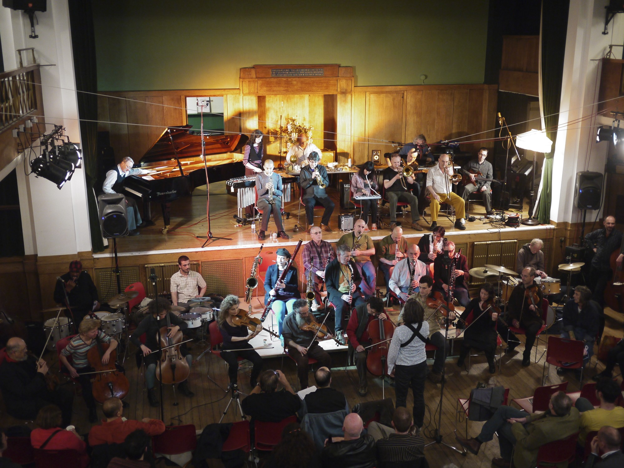 The 'Freedom of the City' festival, performing with London Improvisers Orchestra, Conway Hall, 2011