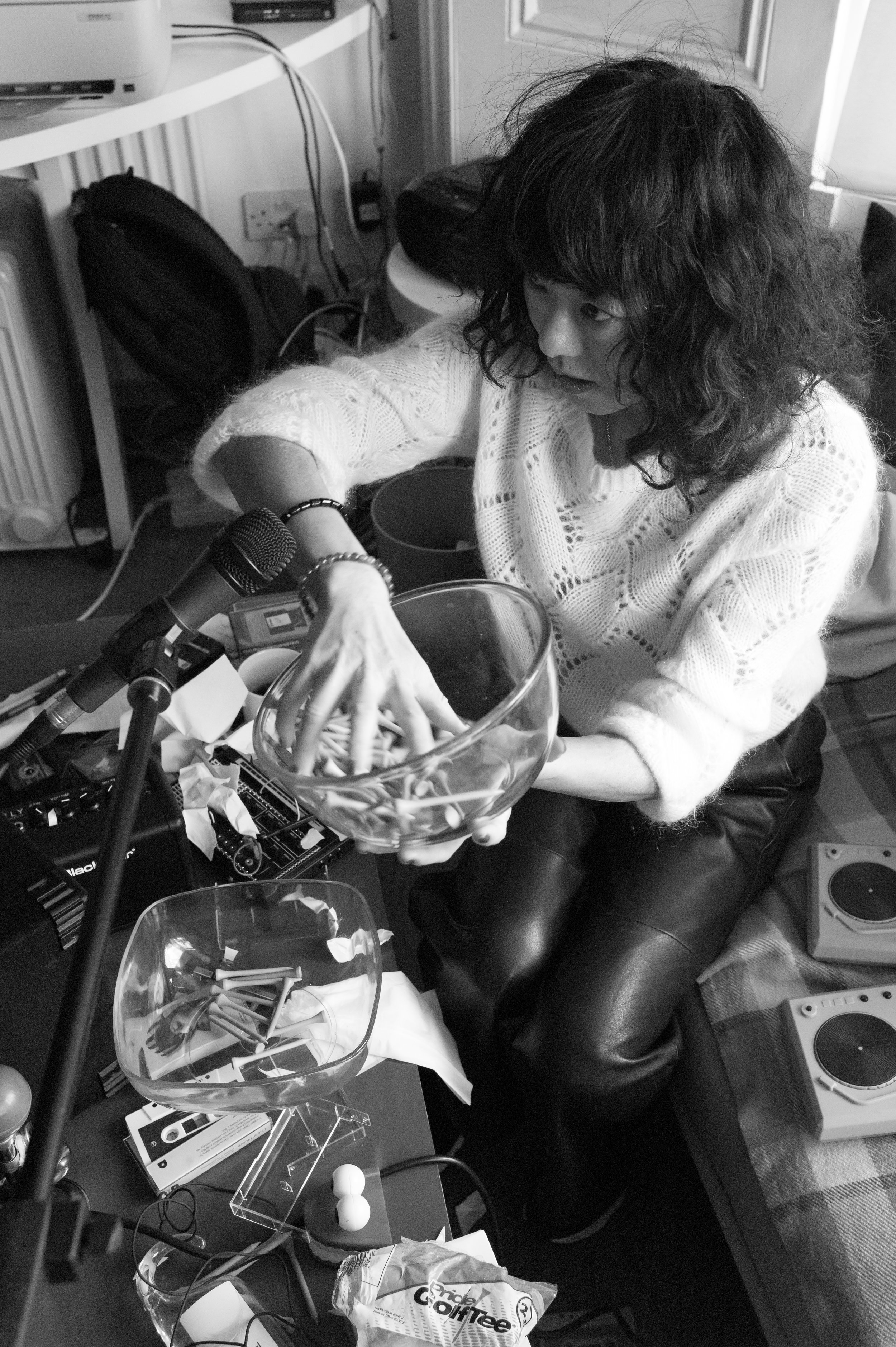 Tania Chen Steve Beresford recording session 25Feb19 - Fabio Lugaro-31.jpg