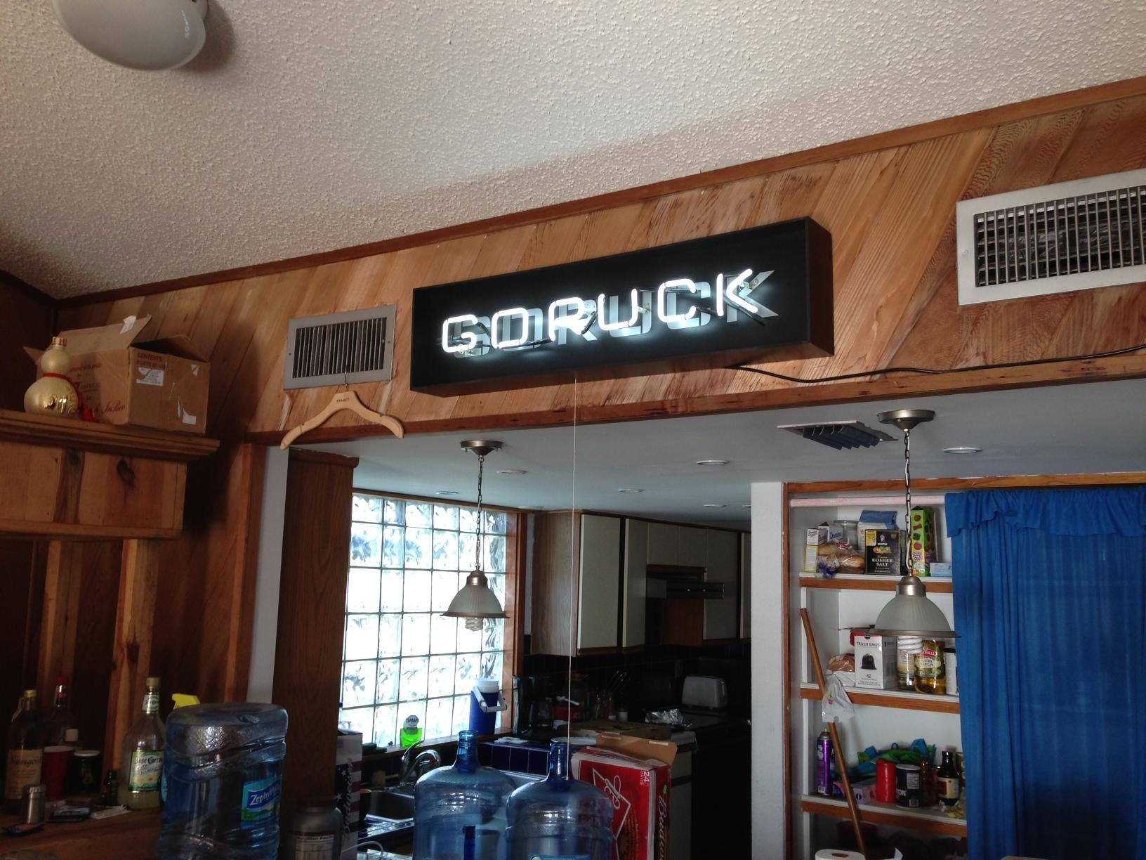 The GORUCK Team House
