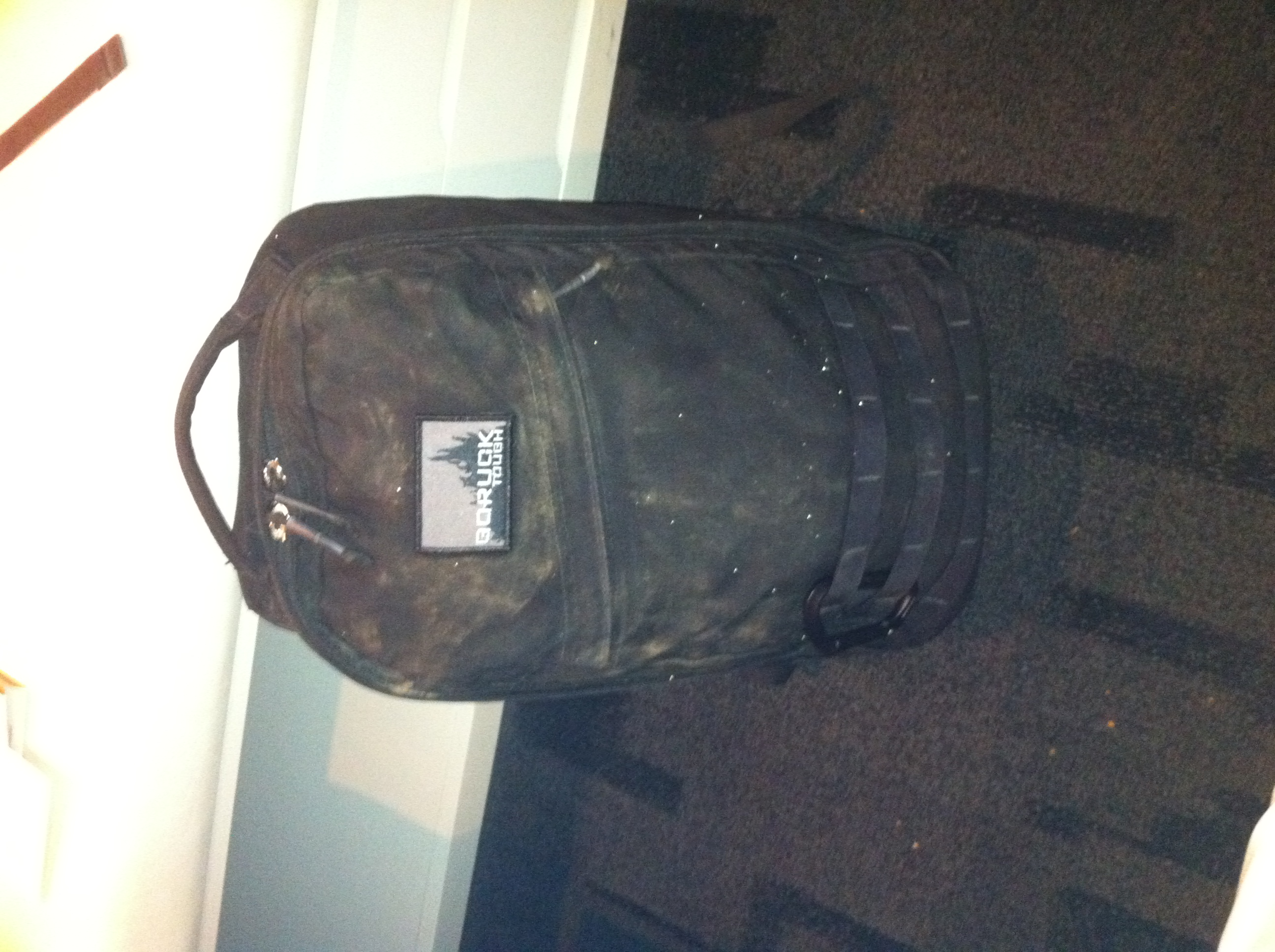 My GORUCK GR1 with the GORUCK Tough patch earned after the GRC.