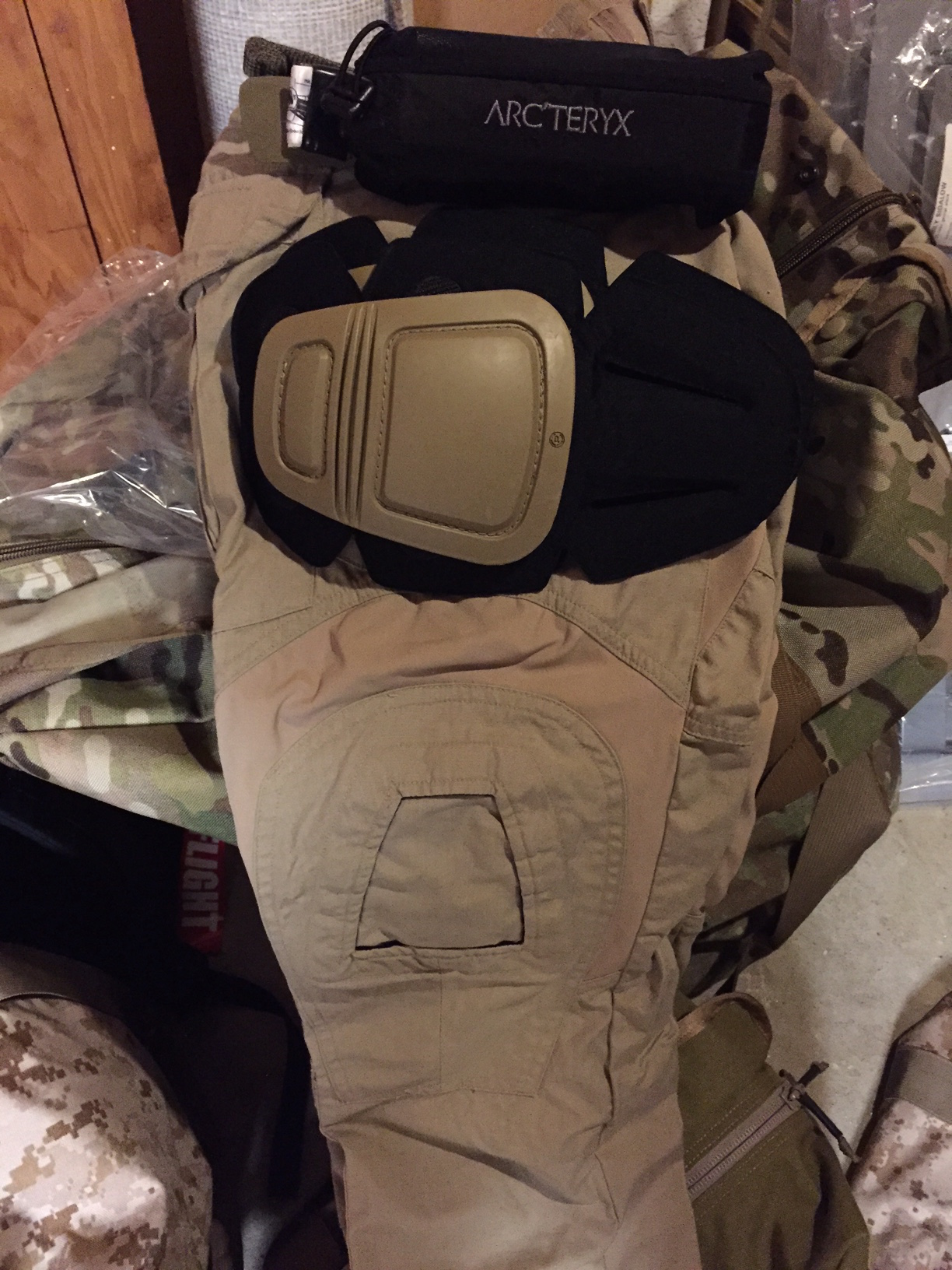Crye G3 pants and kneepads. Arc;teryx LEAF belt
