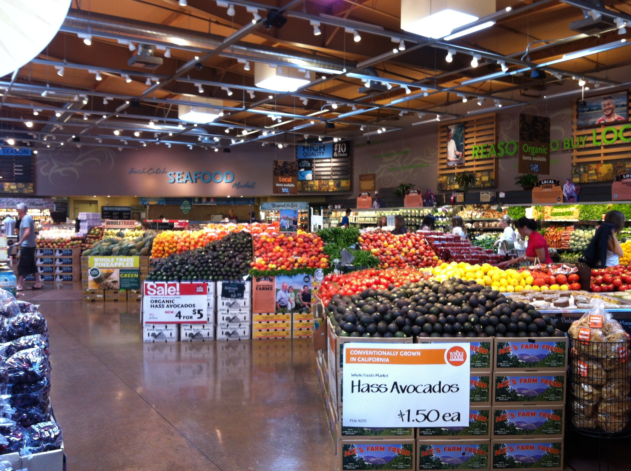 Picture perfect Whole Foods