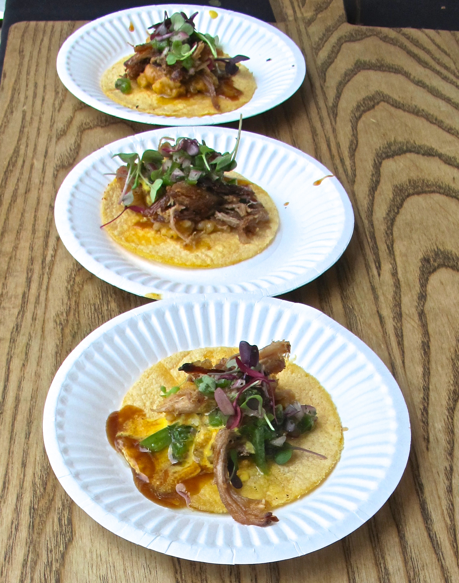 Zarate's pork belly tacos