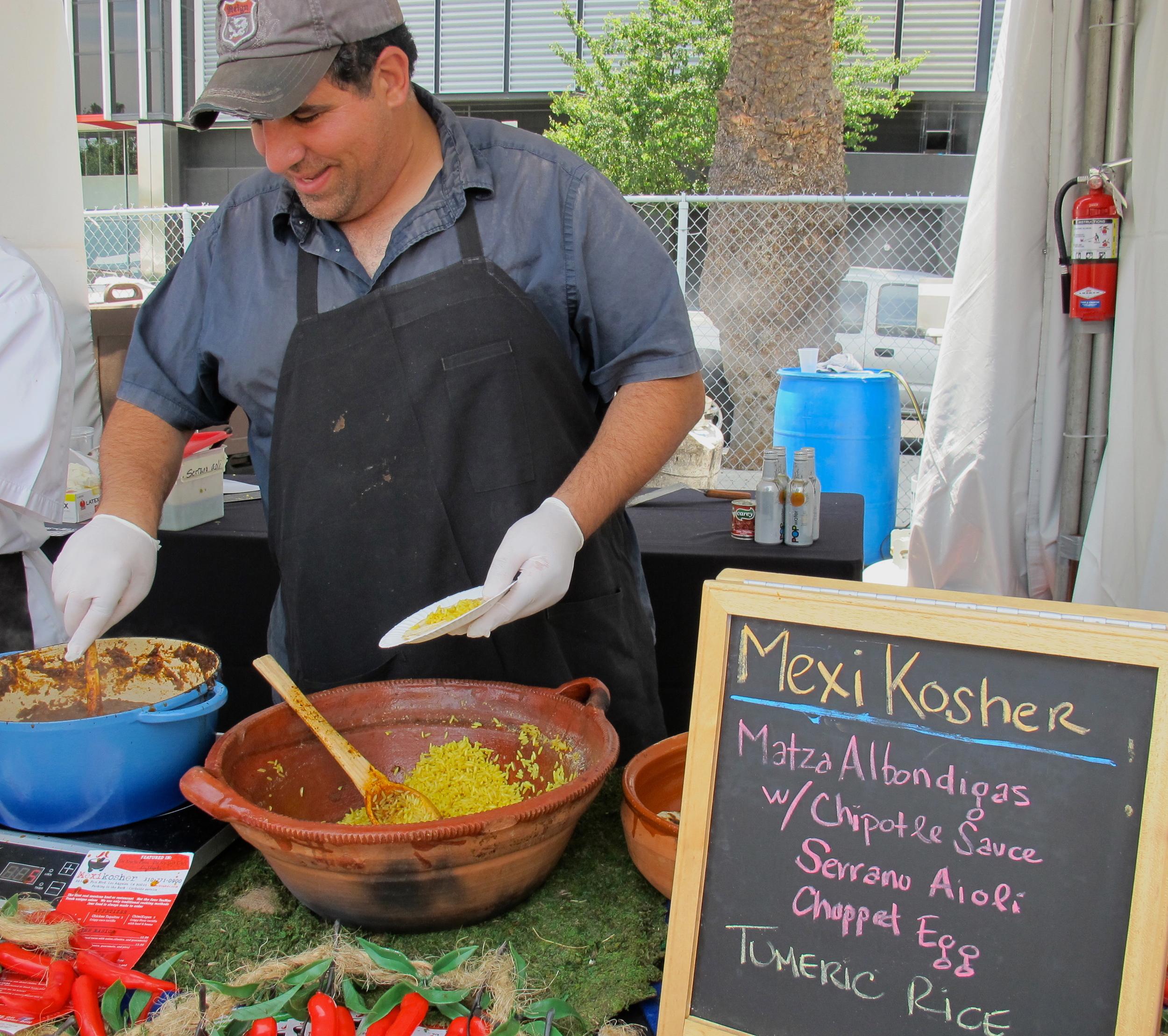 MexiKosher's albondigas taco