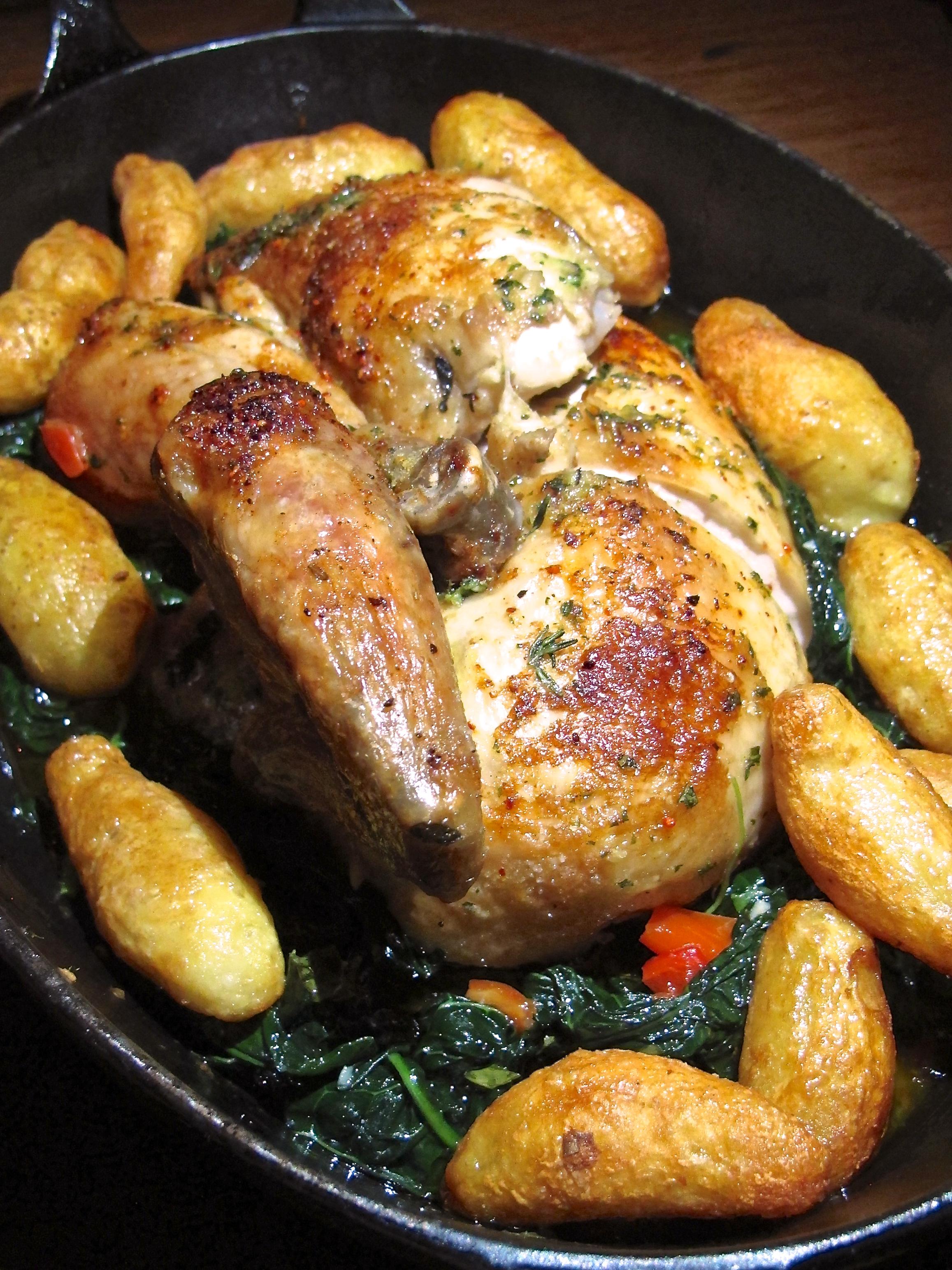 Republique's rotisserie chicken