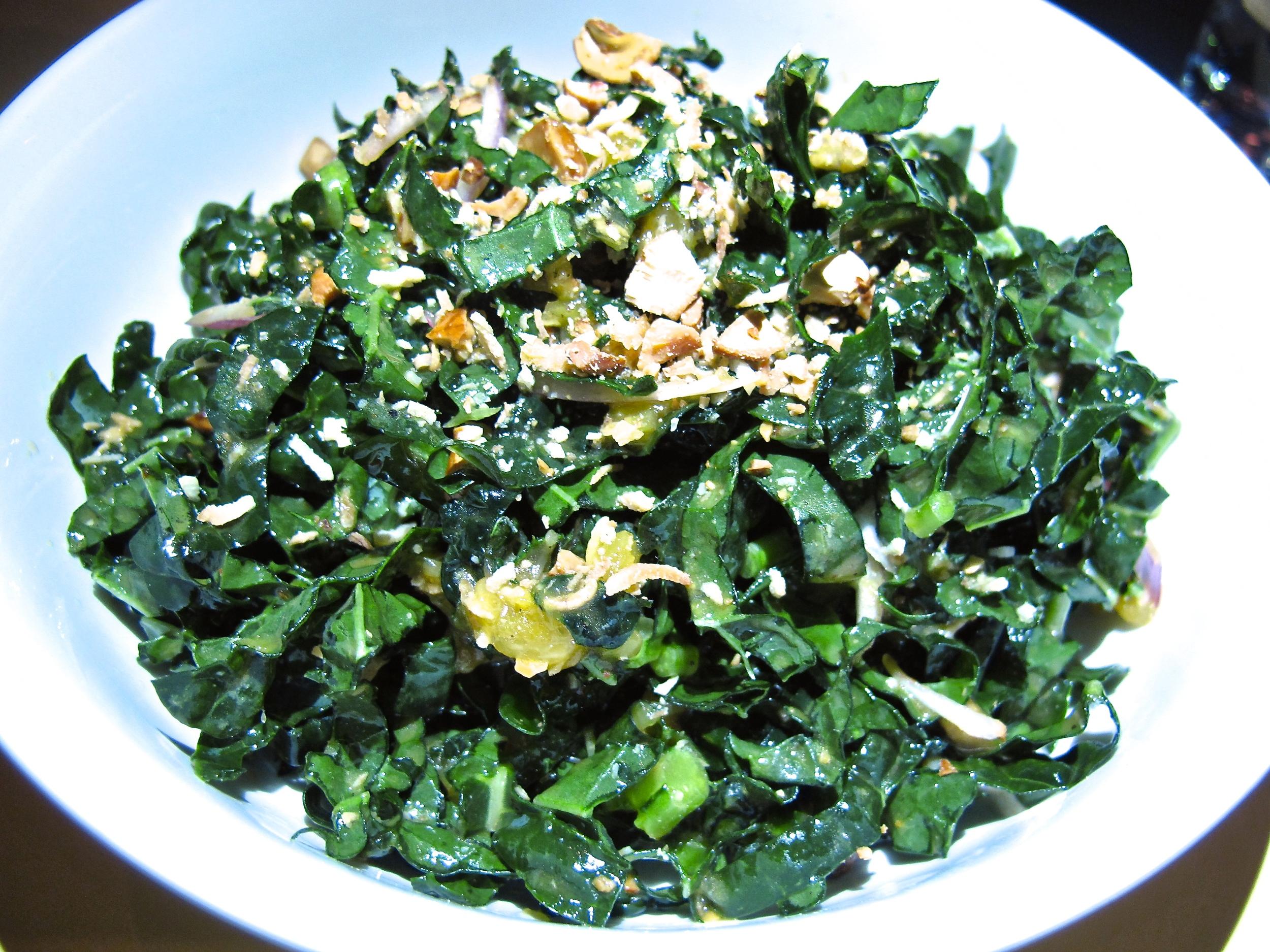 East Borough's kale salad