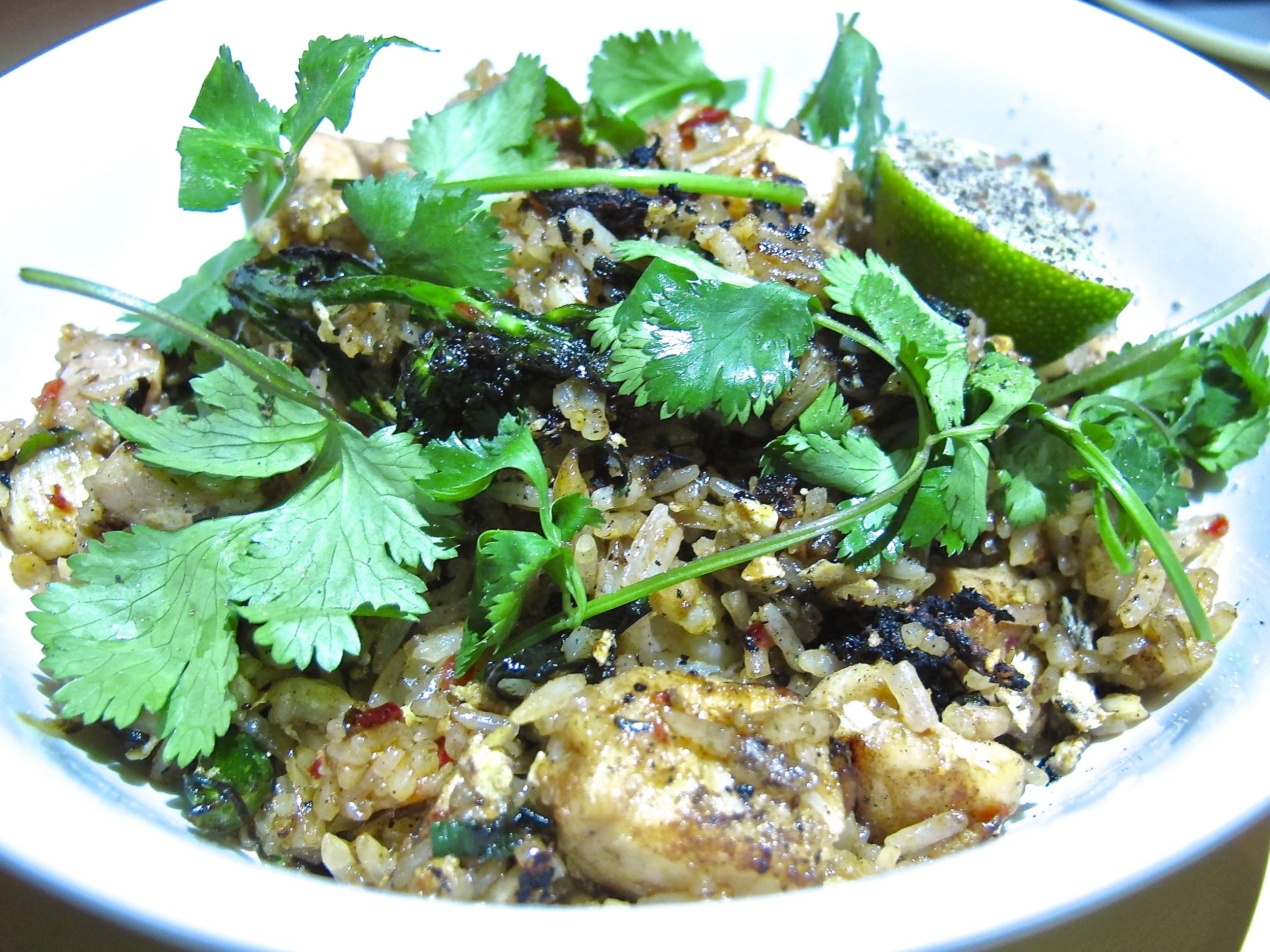 East Borough's fried rice