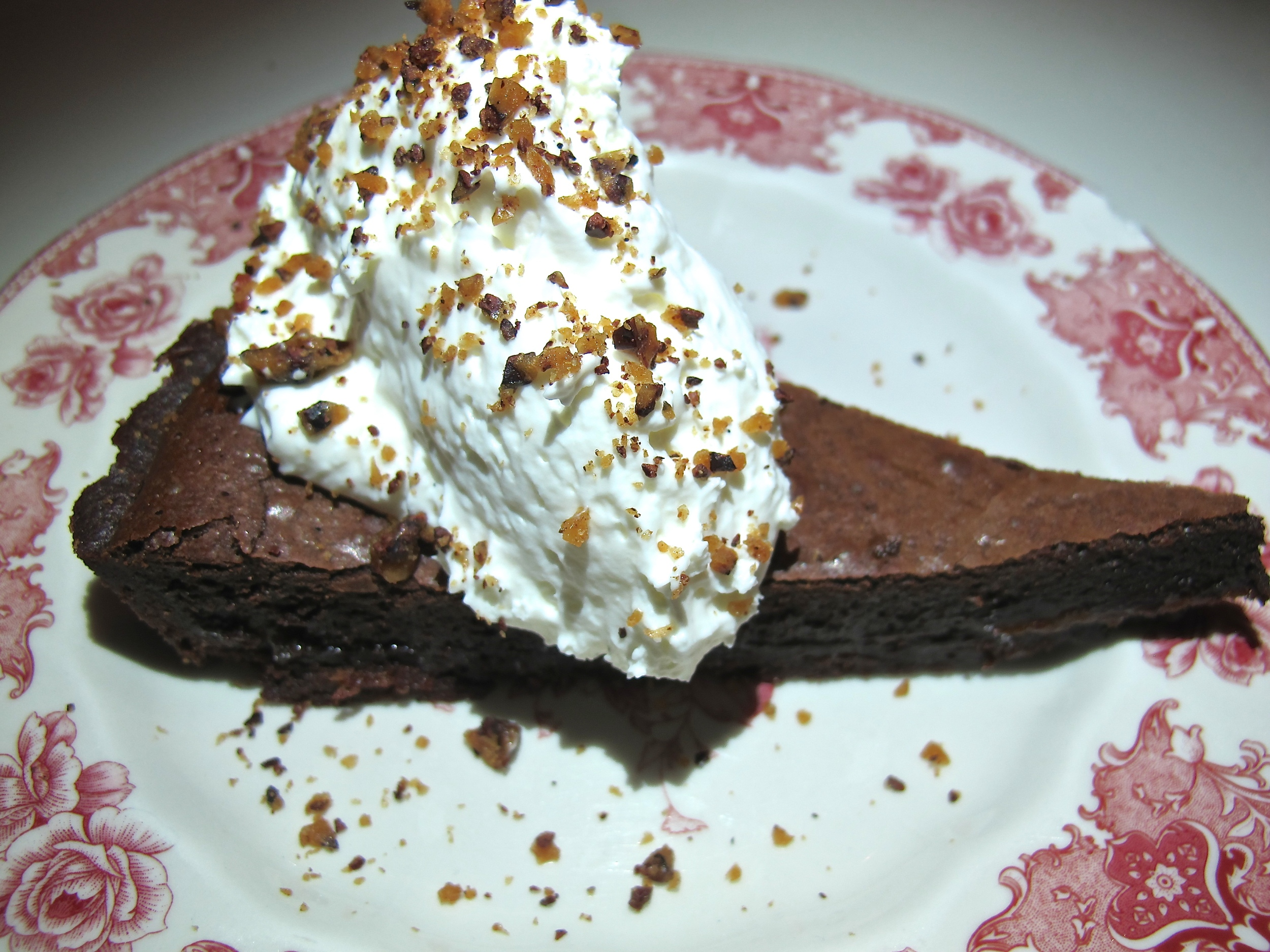 Hart and Hunter salted caramel chocolate tart