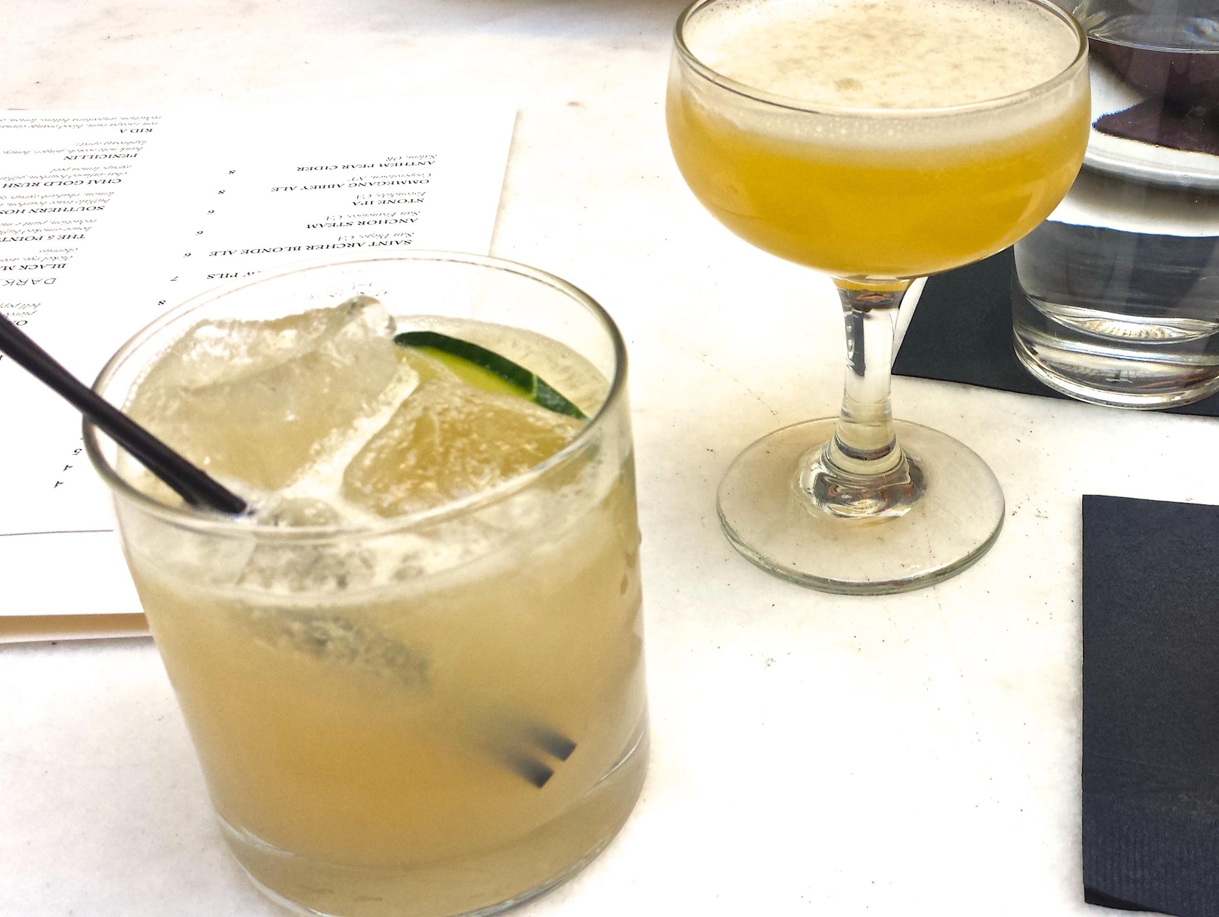 Wood and Vine Pre-Pantages cocktails
