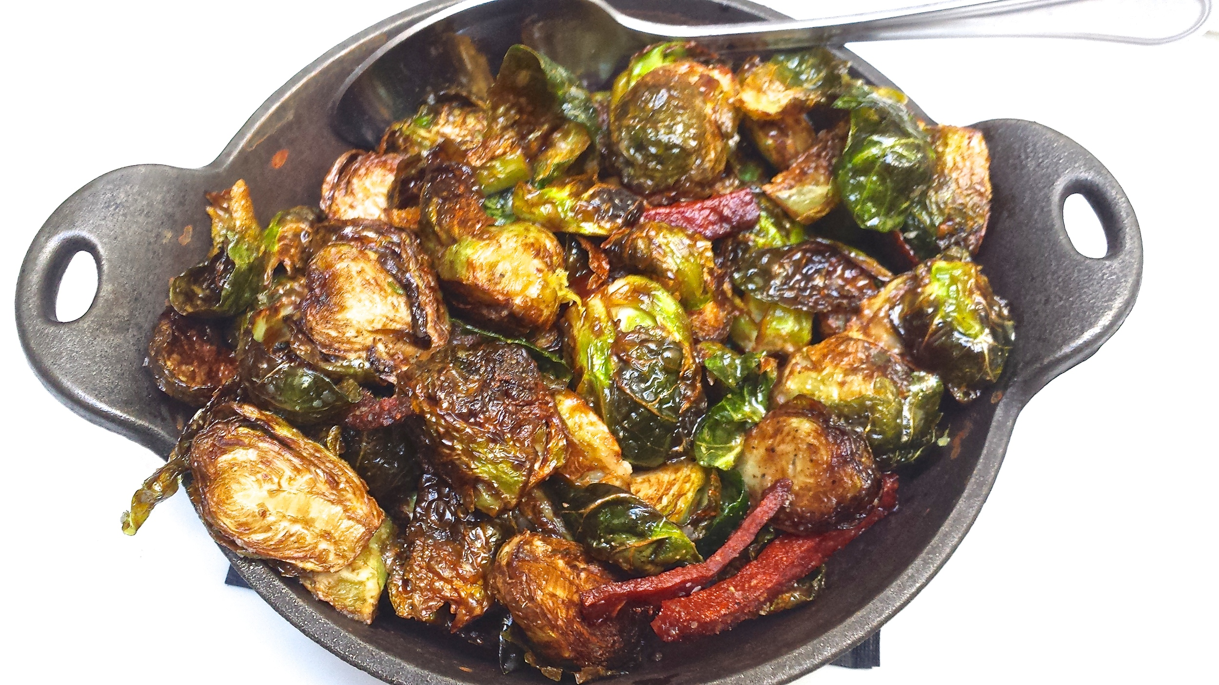 Wood and Vine brussels sprouts