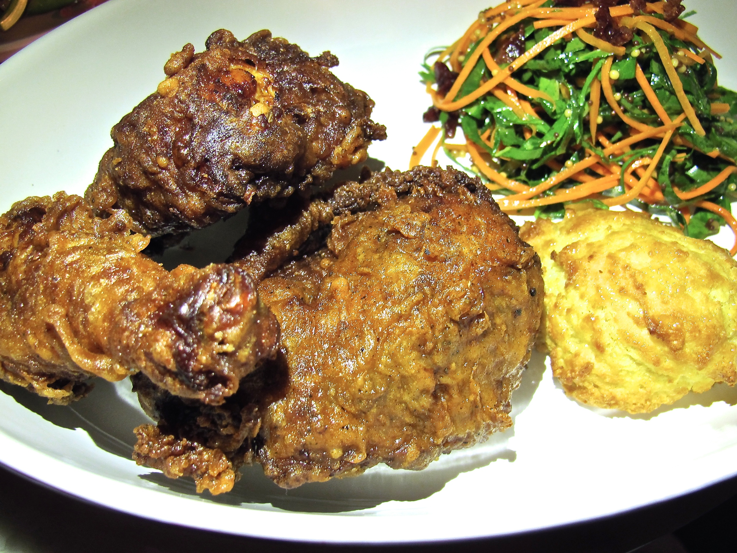 Superba Food and Bread fried chicken