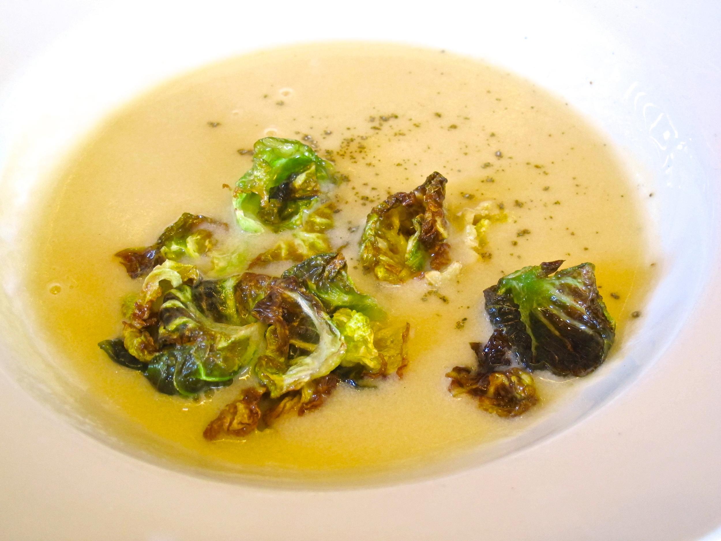 Girasol sweet corn soup