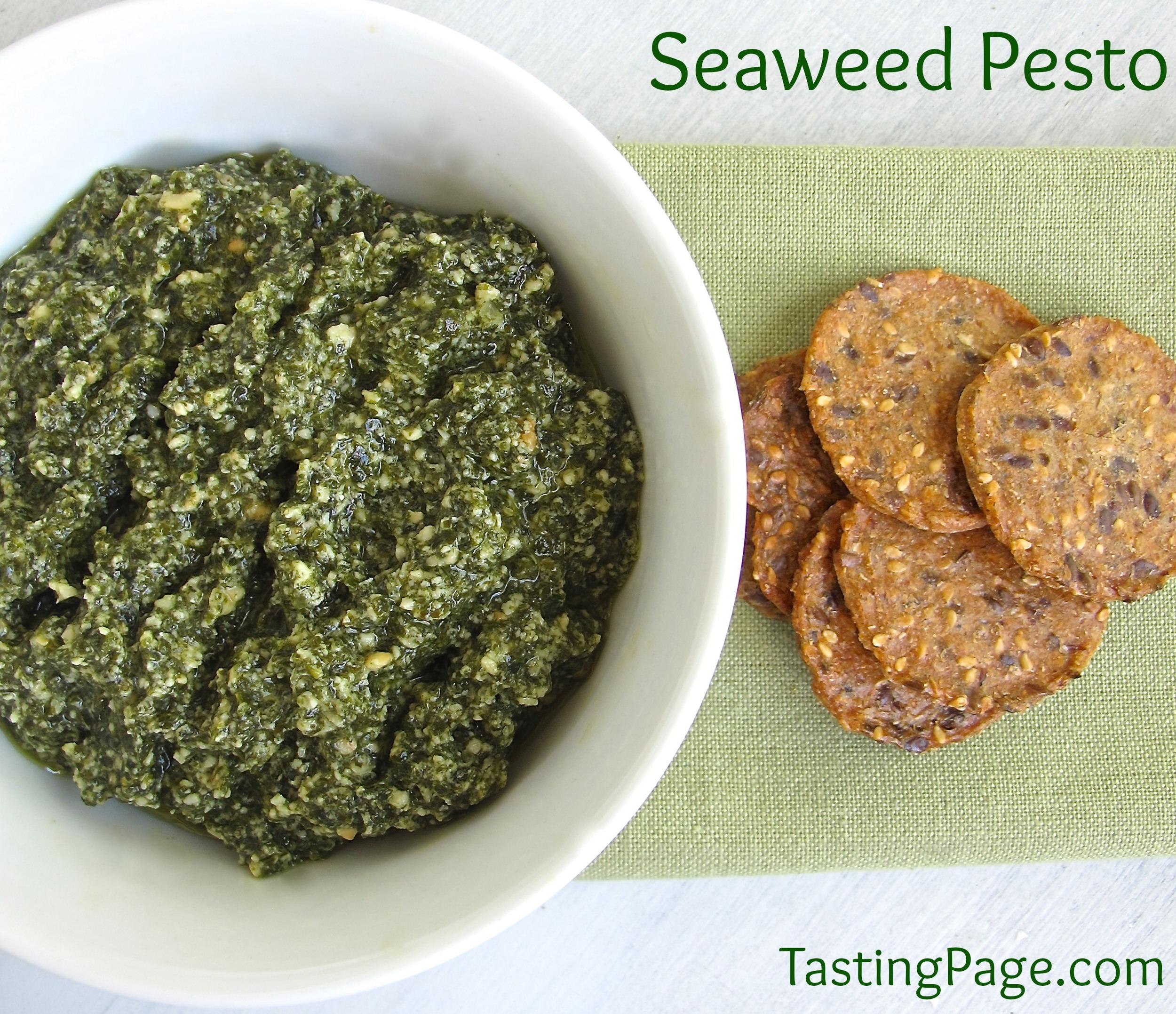 seaweed pesto