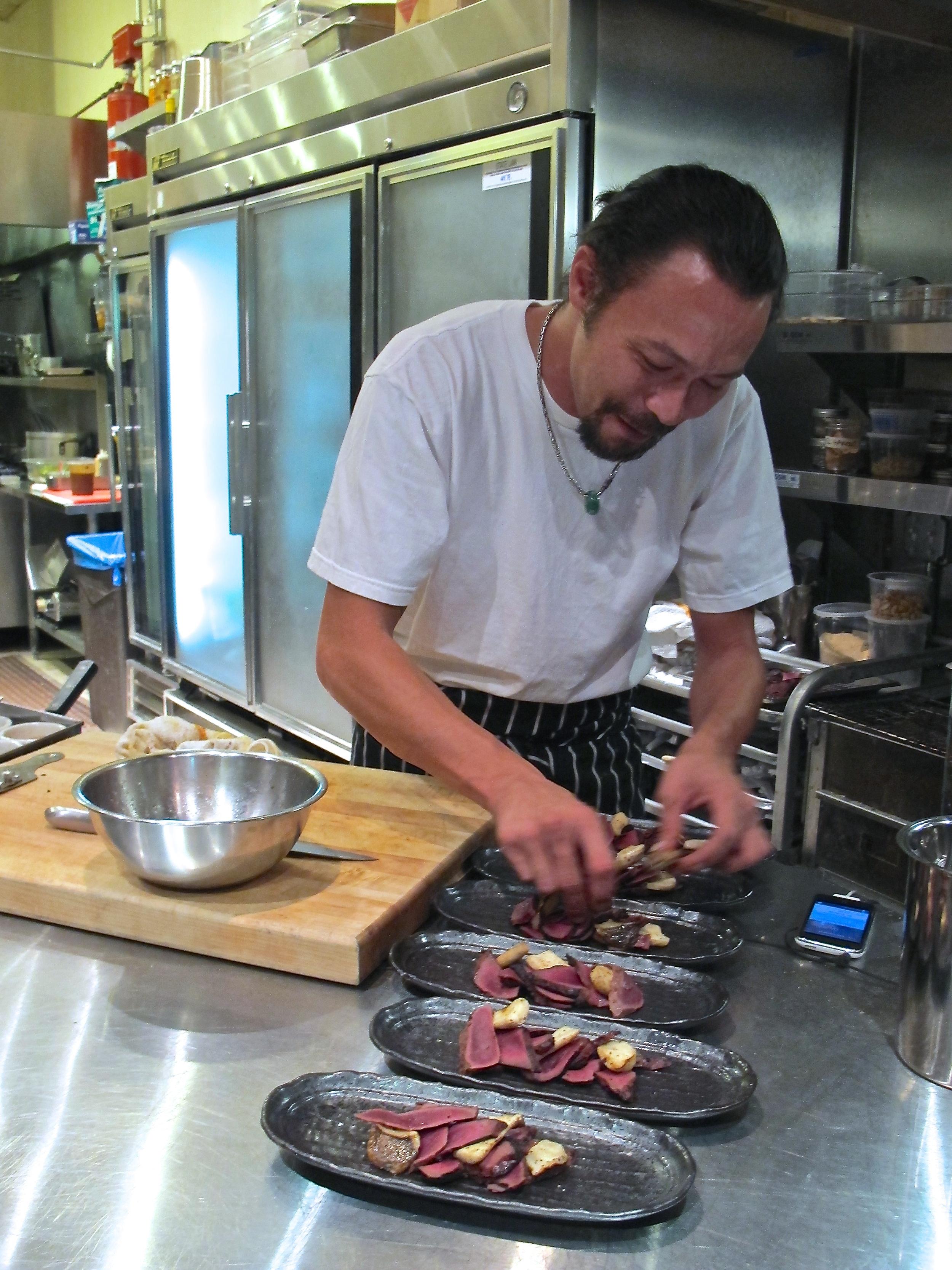 b.o.s. Chef David Bartnes